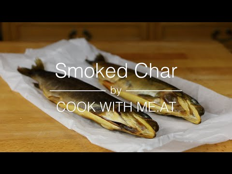 Smoked Char + DIY 1 $ Smokehouse Tutorial - The Tyrolean Kwell Char Project Part 5 - COOK WITH ME.AT