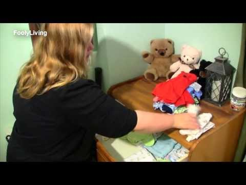 ORGANIZE your BABY CLOTHES - Before and After Makeover