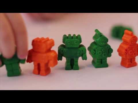 Toddler DIY Crayon Molds