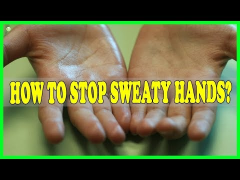 How To Stop Sweaty Hands? | Best Home Remedies