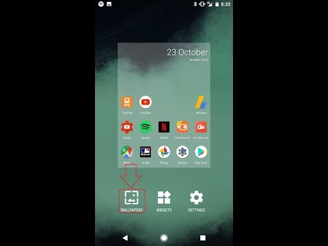 How To Set Wallpapers On Google Pixel Phone(Android Phone)