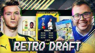 RONALDO 99 🔥 RETRO DRAFT FIFA 17!