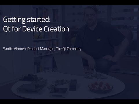 Getting Started with Qt for Device Creation