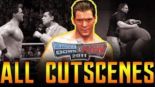 WWE SVR 2011 | Road To Wrestlemania All Cutscenes Full Movie