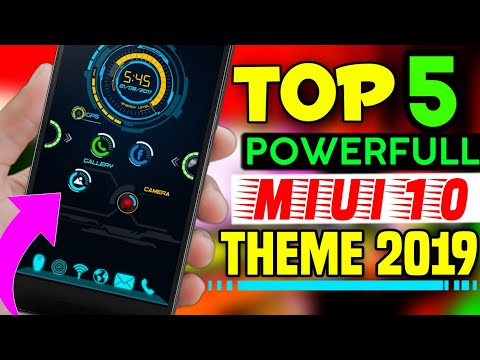 Top 5 Powerfull MIUI 10 Theme 2019 || Next Level Best Theme For ALL XIAOMI USER'S