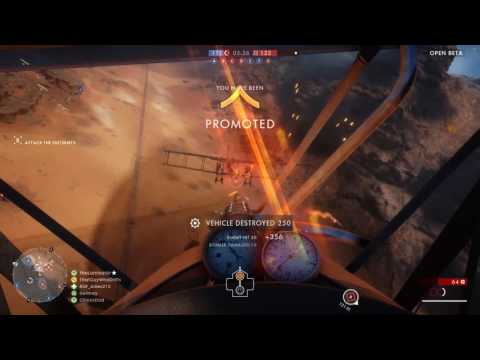 BF1: Trying out the Plane