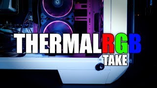 This RGB from Thermaltake will BLIND You - CES 2018