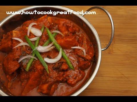 Indian Food - Lamb Curry recipe - Pressure cooker - Mutton Rogan Josh