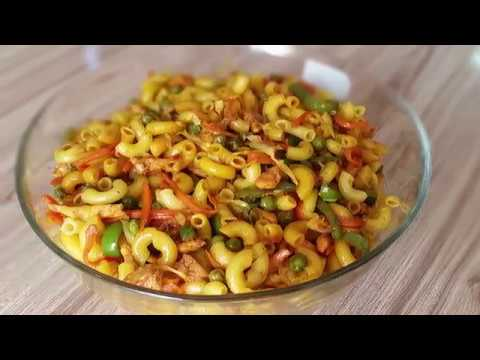 Chicken And Vegetable Macaroni Recipe