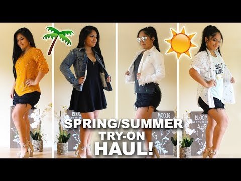 SPRING / SUMMER CLOTHING TRY-ON HAUL 2018!!!