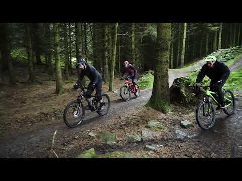 Mountain biking with the new Voodoo Full Sus bikes