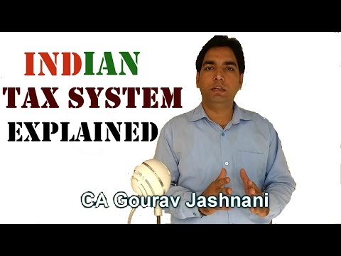 Indian Tax System : A very simple explanation (2017)