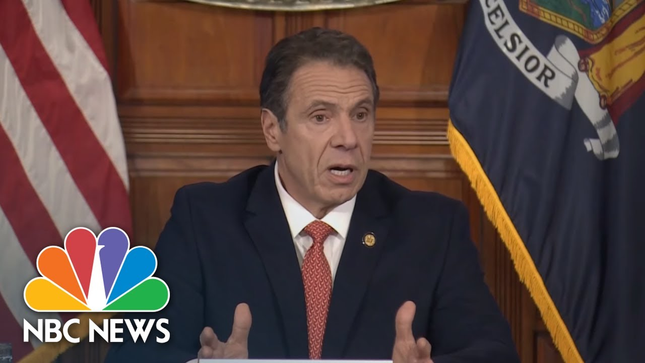 Andrew Cuomo Issues Executive Order For All NY Residents To Wear Masks In Public   NBC News