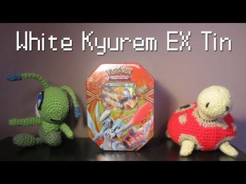 Opening a Pokémon White Kyurem EX Tin