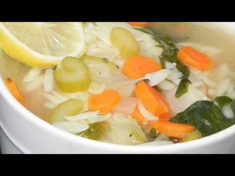 Recipe: Lemon Chicken Orzo Soup