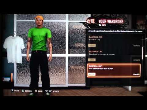 Sleeping Dogs - Changing Clothes (Using Wardrobe)