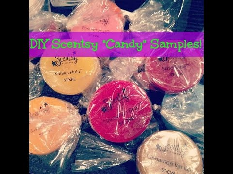 How to Make the ~CUTEST~ Scentsy Samples!!!