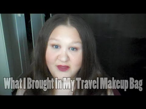 What I Brought In My Travel Makeup Bag