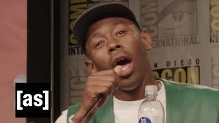 SDCC Exclusive: Tyler, the Creator + The Jellies! | The Jellies | Adult Swim