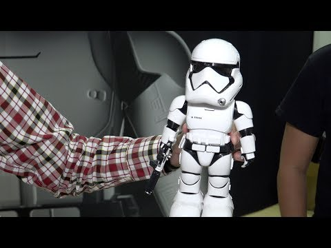 Toy Fair 2018: Star Wars First Order Stormtrooper Robot