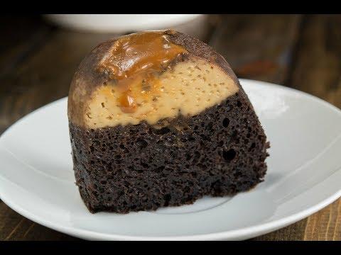 Chocoflan Recipe   How To Make Chocoflan   SyS