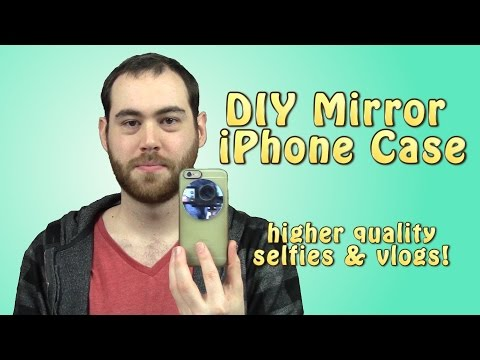 DIY Mirror iPhone Case for Better Selfies and Vlogs