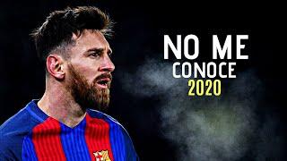 Lionel Messi • No Me Conoce ( Remix ) Bad Bunny x J.Balvin x Jhay Cortés | HD |