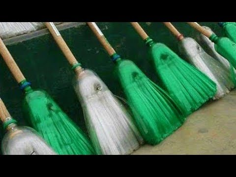 How to make a broom from plastic bottles | Homemade