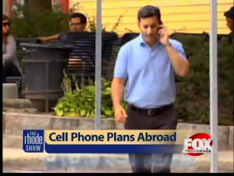 How to avoid cell phone charges abroad