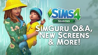 The Sims 4 Seasons News: New Death Types, FREE Glass Roof Update & MORE!