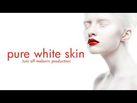 PURE WHITE SKIN: Turn Off Melanin Production - Subliminal Affirmations