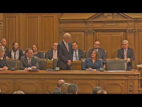 Peter Tschentscher zum Bürgermeister gewählt