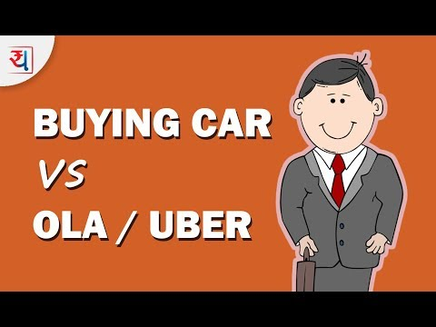 Buy Car vs Uber/Ola? | Which is better, buying a new car vs hire it? | Rent or Buy a Car