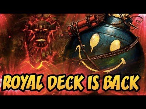Hearthstone: Royal Deck Is Back | Wild Handlock 2018