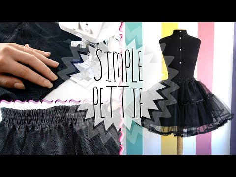 DIY: Making a Petticoat | MeLikesTea