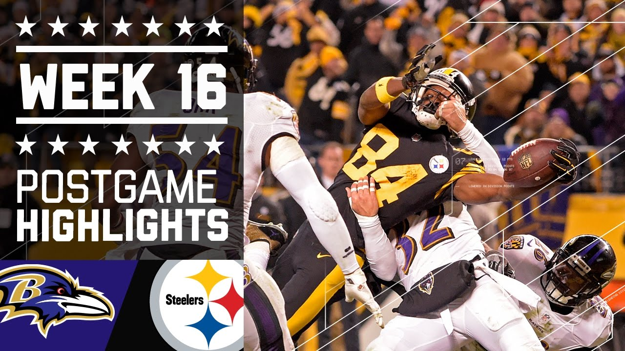 Ravens vs. Steelers | NFL Week 16 Christmas Game Highlights