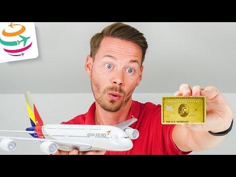 Gratis Flüge mit extra Meilen durch American Express Gold Card | GlobalTraveler.TV