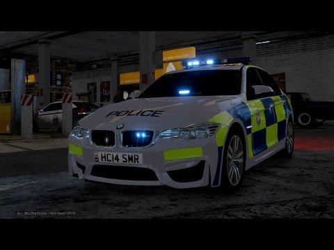 2015 Police BMW M3 [GTA IV Car Mod]