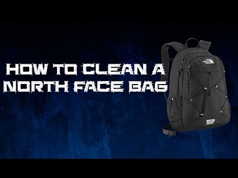 How to clean a north face bag