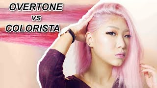 Overtone Vs Loreal Colorista Experiement Pastel Pink