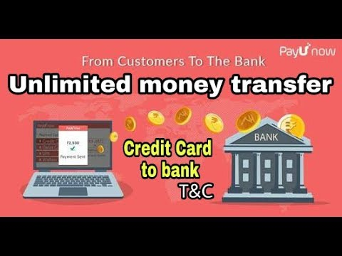 Unlimited money transfer credit card to bank || payU money merchant || 100 Cash back on Freecharge