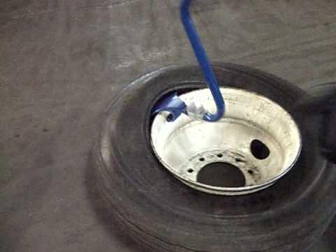 Ken-Tool's Blue Cobra™ Demounts 4 Truck Tires in About a Minute!