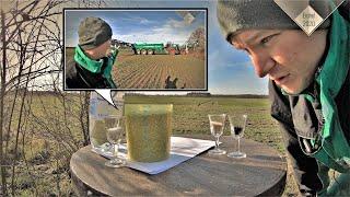 MFV-log #1 Das Korn oder der Korn? Schnapsglasdüngung im Getreide