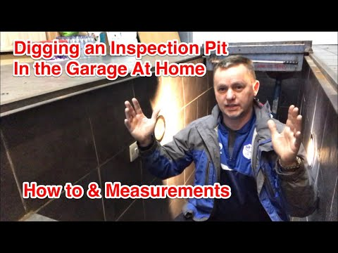 Digging an Inspection Pit in Your Garage at Home (How I Did Mine)