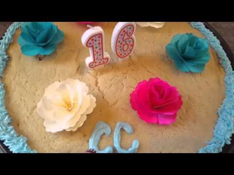 How to make an easy Pillsbury Sugar Cookie Cake