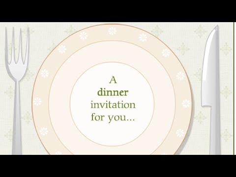 informal invitations