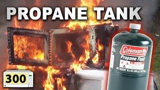 Microwave A Propane Tank (#300) - SERIES FINALE!