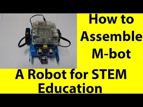 How to assemble Mbot |Makeblock mBot-Blue Educational Programmable Robot | STEM| Robotics