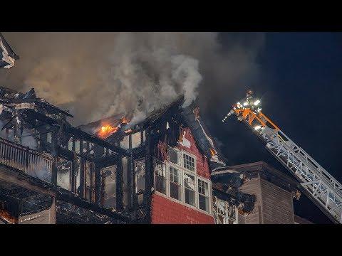 Richards Ave Condo Fire (Norwalk, CT) 12/11/17