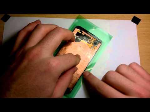 Samsung Galaxy S5 LCD/FRAME Adhesive aplication